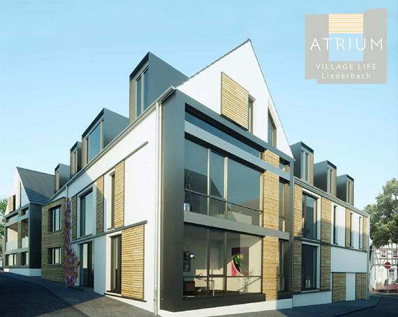 Immobilienprojekt ATRIUM Village Life Liederbach